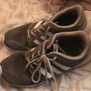 Size 7.5 Adidas running shoes
